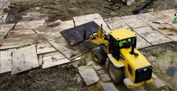 Timber Matting